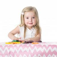 Bumkins Splat Mat- wasserdichte Unterlage für den Fussboden, im Auto oder unter dem Tisch - rosa