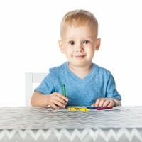 Bumkins Splat Mat- wasserdichte Unterlage für den Fussboden, im Auto oder unter dem Tisch - grau