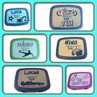 Beschriftung Lunchbox