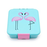 Little Lunch Box Co. Little Lunch Box Co. -  Flamingo mit 3 Unterteilungen