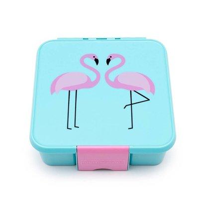 Little Lunch Box Co. Little Lunch Box Co. -  Flamingo mit 3 Unterteilungen