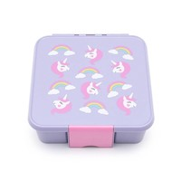 Little Luch Box Co. Little Lunch Box Co. -  Einhorn mit 5 Unterteilungen