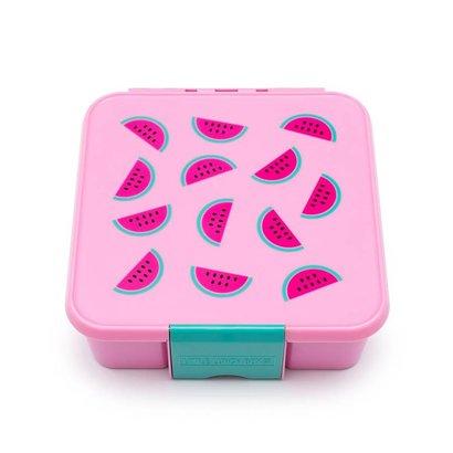 Little Luch Box Co. Little Lunch Box Co. - Wassermelone mit 3 Unterteilungen
