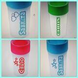 Beschriftung Becher &  Flaschen