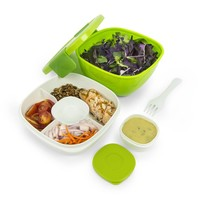 bentgo Bentgo - Salatschüssel Grün inkl. Gabel & Dressingbox