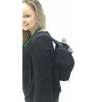 IRIS Sportlicher Rucksack/ Schultertasche mit Kühlfunktion - Grau