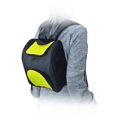 IRIS Sportlicher Rucksack/ Schultertasche mit Kühlfunktion - Neongelb