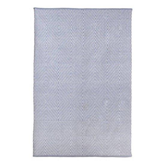Teppich Zen aus recycelter Baumwolle