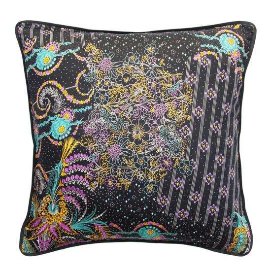 Mixed Pattern Cushion Cover