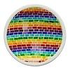 Rainbow-Coloured Mosaic Bowl