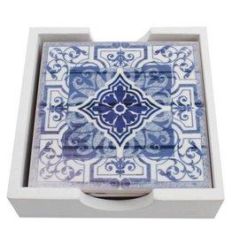 Untersetzer im marokkanischen Design, 4er Set