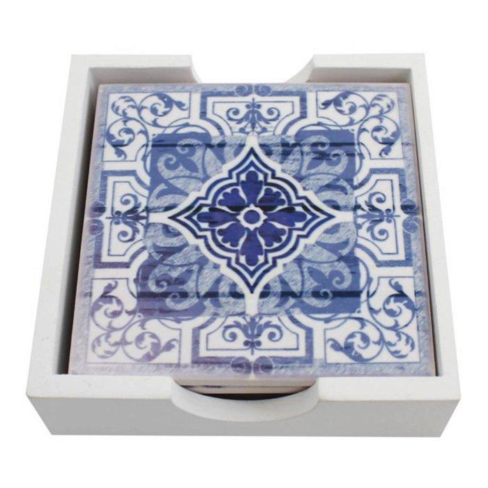 Moroccan Coasters, Set of 4