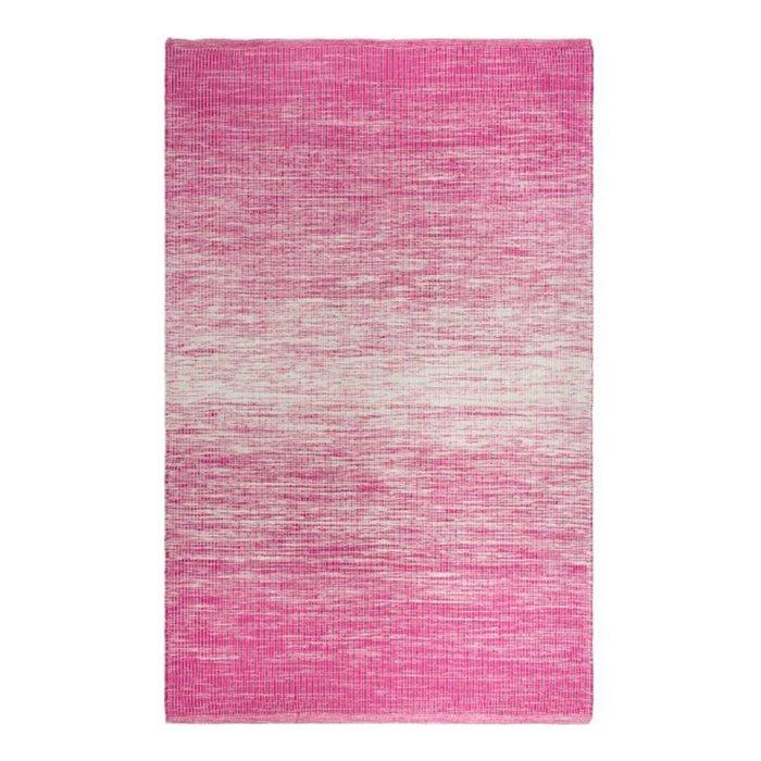 Recycelter pinker Teppich Stockholm