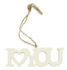 Hanging Decoration 'I Love You'