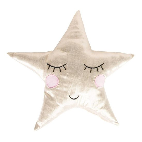 Gold Shining Star Cushion