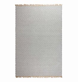 Recycled Light Grey Rug Lancut