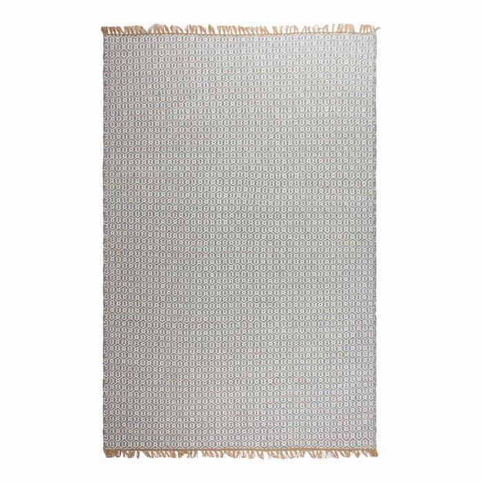 Recycled Light Grey Rug Lancut