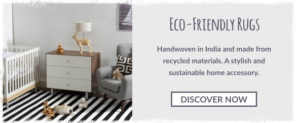 Handwoven, eco-friendly and sustainable rugs