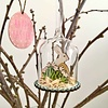Osterhase in Glaskuppel zum Aufhängen
