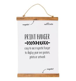 Magnetic Wooden Picture Hanger