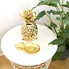 Gold Pineapple Money Box