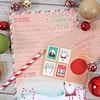 'Brief an den Weihnachtsmann' Set