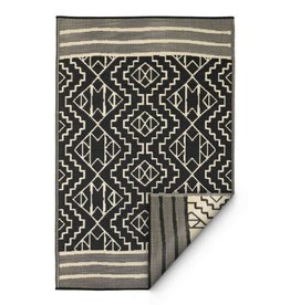 Recycled Black Tribal Rug Kilimanjaro