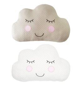 Polka Dot Cloud Cushion