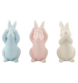 Pastel Easter Bunnies Set