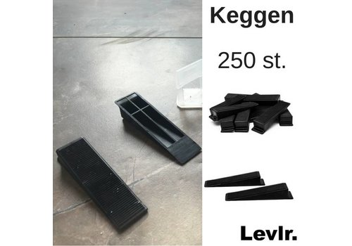 Levlr. Levelling Keggen 250 st.