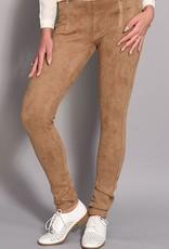 Rachel Moore Suedine zipper pants