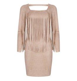 Rachel Moore Fringe Suedine jurk