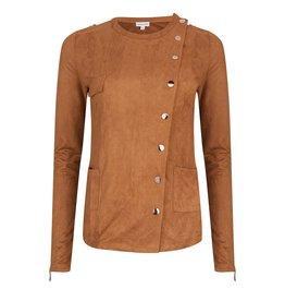 Rachel Moore Suedine jacket