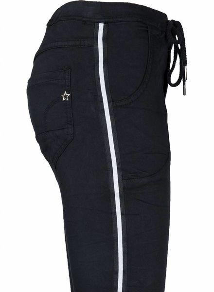 place du Jour Jogging Jeans Riley Zwart