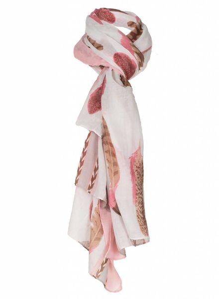 Sjaal Feather koraal