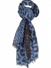 Sjaal Liz blauw