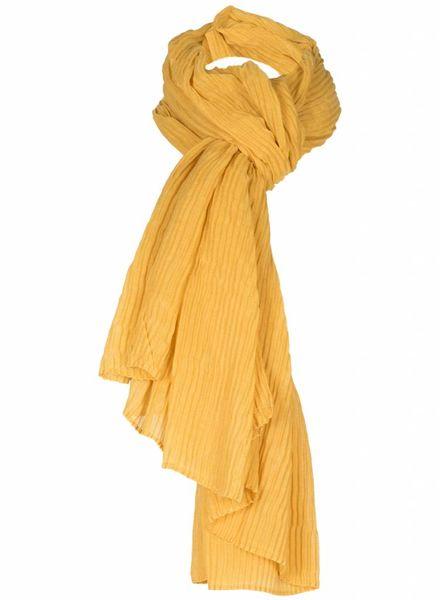 Sjaal Amara okergeel