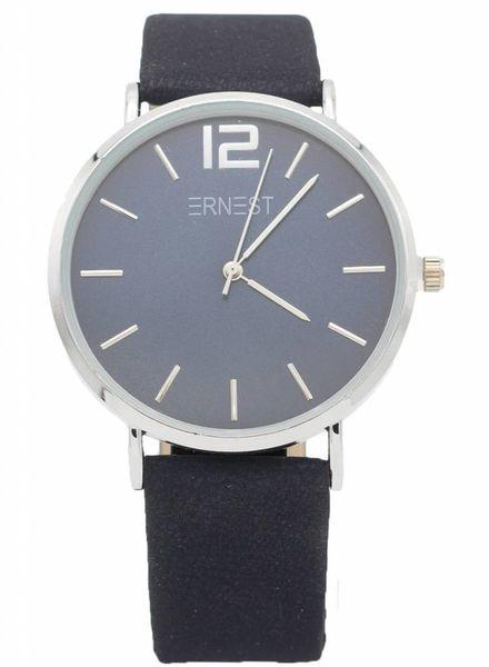 Ernest Horloge Siska blauw