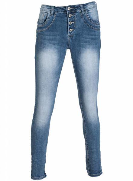 place du Jour Jeans Tilly blauw