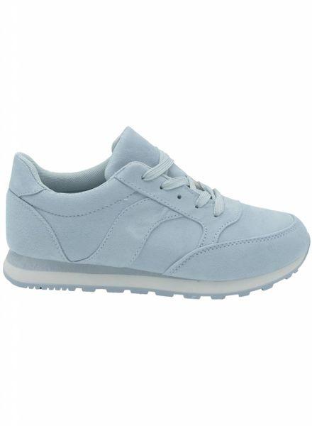 Sneaker Anke lichtblauw