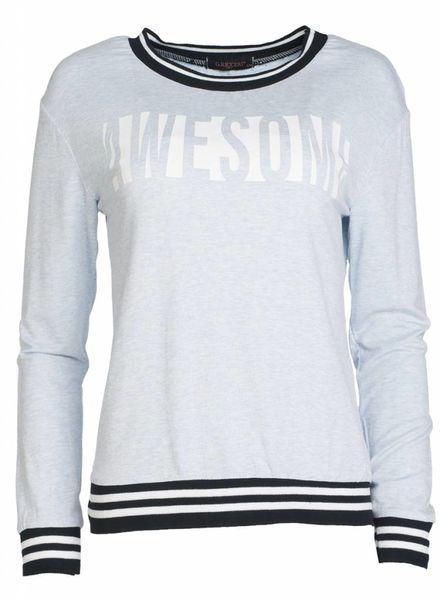 Gemma Ricceri Shirt Awesome blauw