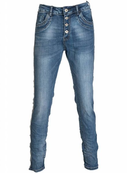 karostar Jeans Mabel blauw