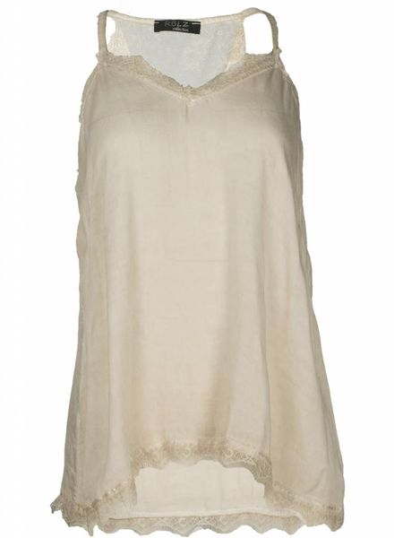 Rebelz Collection Top Leha Beige One Size