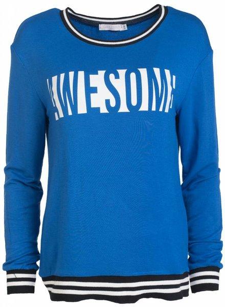 Gemma Ricceri Shirt Awesome kobalt