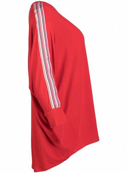 Gemma Ricceri Shirt Hella rood