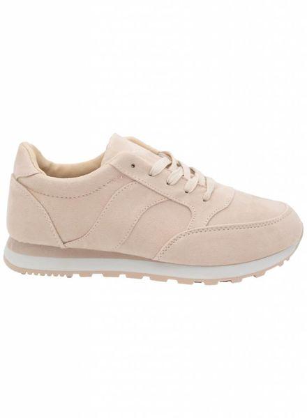 Sneaker Anke beige/zalm