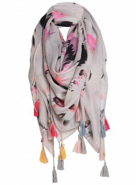 Sjaal Ella roze