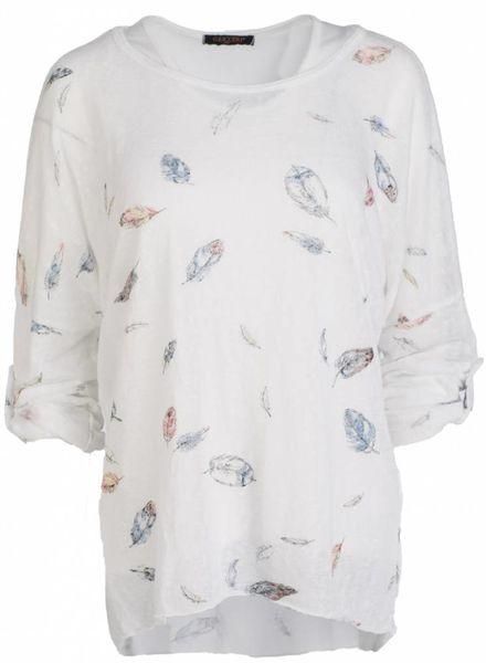 Gemma Ricceri Shirt Tess wit
