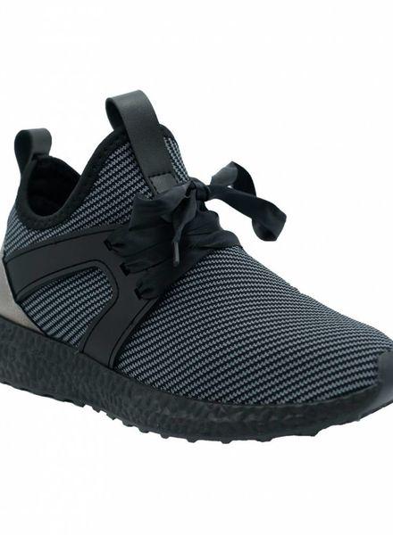 Sneaker Juul grijs/zwart