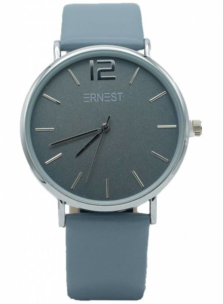 Ernest Horloge Siska lichtblauw